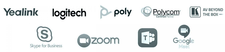 Banner marcas videoconferencia grey